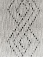 Circular knit Mesh Jacquard Fabric